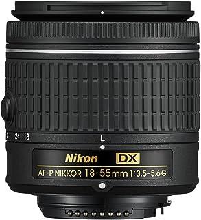 Nikon AF-P DX 18-55mm f3.5-5.6G Lens, Black
