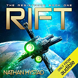 Rift                   Written by:                                                                                                                                 Nathan Hystad                               Narrated by:                                                                                                                                 Richard Ferrone,                                                                                        Flynn Earl Jones,                                                                                        Mark Sanderlin,                   and others                 Length: Not yet known     Not rated yet     Overall 0.0