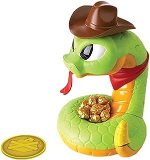 Juego de serpiente con timbre de Jake Jake de serpiente para obtener el oro antes de que golpee juguete de serpiente eléct...