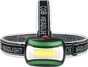 Hoofd Zaklamp Mini COB LED Koplamp 4 Modi Waterdichte Koplamp Hoofd Zaklamp Lanterna Voor Outdoor Camping Nachtvissen (Kle...