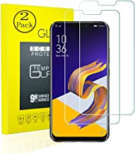 [2 Pack] Screen Protector,Compatible for Asus Zenfone 5z ZS620KL Tempered Glass Screen Protector Round Edge Anti-Scratch B...