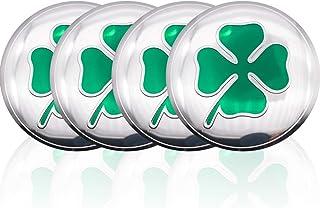 con Logo Emblema Tappi in Metallo Antipolvere Stelo Pneumatico per Alfa Romeo 159 147 156 166 Giulietta Giulia Mito GT Spider Brera ZGYAQOO 4 Pezzi Copri Tappi Antipolvere Valvola Pneumatici