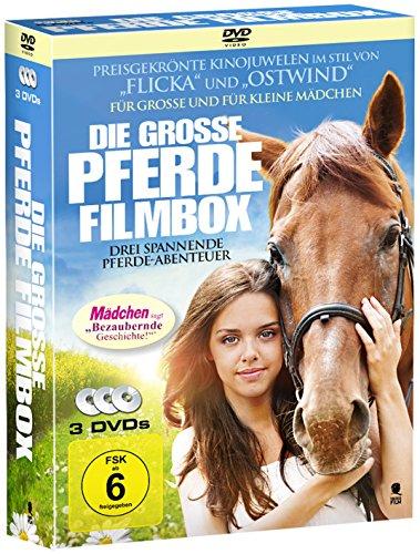 Die große Pferde-Filmbox (3 Filme im Schuber) [3 DVDs]