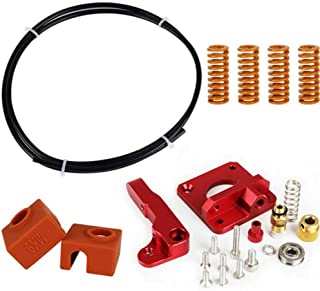 Lei Zhang Extruder Tube Upgrade Kit for Ender 3 Extruder Upgrade Replacement 3d Printers Aluminum Tube