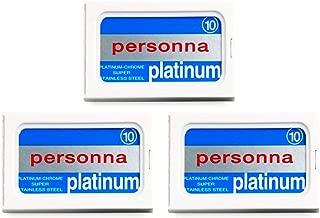 30 Personna - Platinum (Israeli Blue) Double Edge Razor Blades