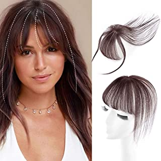 Best human hair topper with bangs Reviews