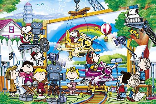1000 piece jigsaw puzzle PEANUTS movie star (50x75cm)
