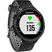 Garmin Forerunner 235 GPS Running Watch with Wrist-Based Heart Rate Monitor (Black/Gray)