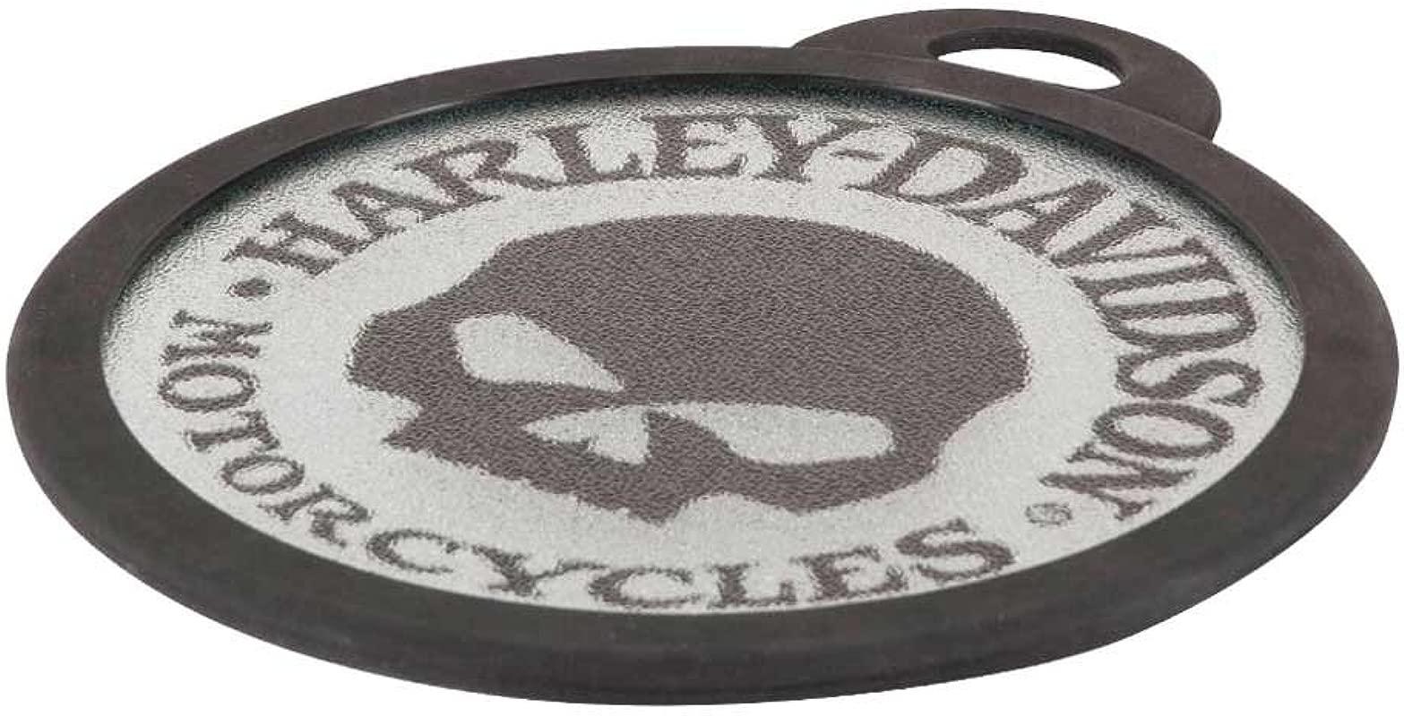 Harley Davidson Willie G Skull Glass Cutting Board HDL 18527