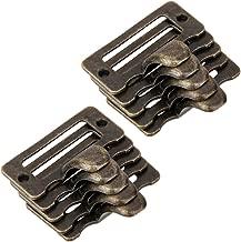 Lot de 10 Poignée de Porte pour Tiroir Armoire Cadre Porte Etiquette Antique S