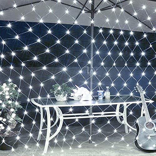 Luces Luces de jardín, 96 LED 1.5M x 1.5M Enchufe Luces de...
