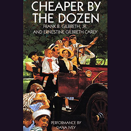 Cheaper by the Dozen audiobook cover art