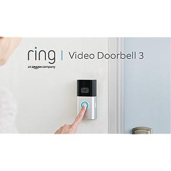 Die neue Ring Video Doorbell 3 von Amazon | HD-Video, fortschrittliche Bewegungserfassung und einfache Installation
