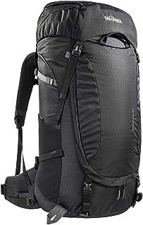 Tatonka Noras 65+10 - Mochila de senderismo con acceso frontal, para hombre y mujer, 65 litros (+10 L), color negro
