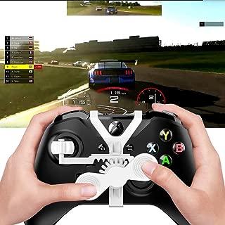 すべてのXboxレーシングゲーム用Xbox Oneミニステアリングホイール、Xbox Oneコントローラーアドオン交換用アクセサリー …