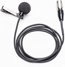 Azden EX-503H Omni-Directional Lapel Microphone with 4-Pin Hirose Connector