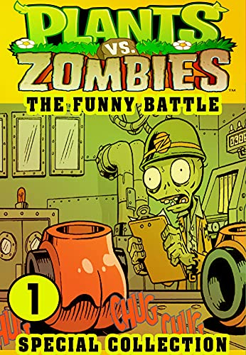 Plants vs Zombies Funny Battle 1: Collection Book 1 - Funny Plants vs Zombies Comics Adventures Graphic Novels Game (English Edition)