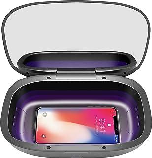 Portable UV Sanitizer Box, Professional for Salon,Cell Phone,Baby,Beauty Tools,Underwear, Nail Salon Equipment,Eyegl(Black)