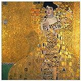 JUNIWORDS Poster, Gustav Klimt, Bildnis der Adele
