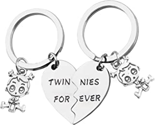 Twins Gift Twin Girls Gift Twins Jewelry Twinnies Forever Sister Matching Gift Set Gifts For Twins Sisters