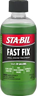 STA-BIL Fast Fix Small Engine Treatment - Cleans Carbs and Injectors - Fixes Rough Running Engines - Eliminates Water - Tr...