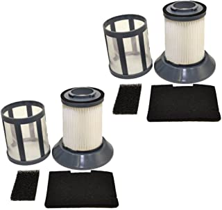 HQRP 2-pack Filter Assembly for Bissell Zing Bagless 34Z1 Accessory Pack Replacement (Pre & Post Motor Filters, Dirt Cup F...