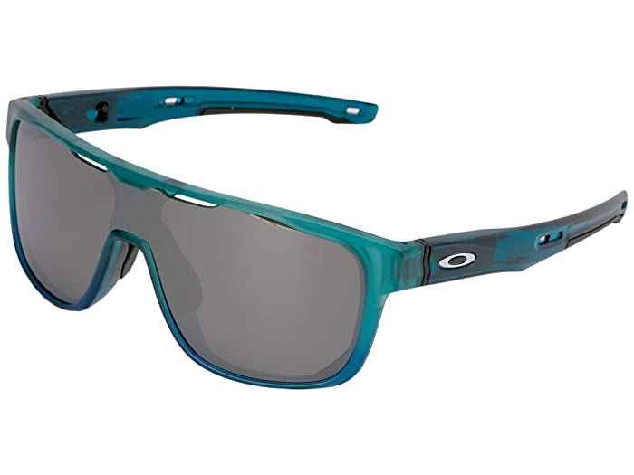 Oakley Crossrange Shield (Arctic Mist w/ Prizm Black) Sport Sunglasses
