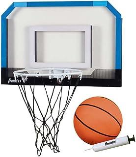 Franklin Sports Over the Door Indoor Mini-Basketball Hoop for Kids with Ball and Pump - Breakaway Pro Style Steel Rim – Sh...