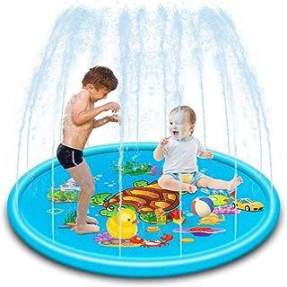 Delee - Aspersor para niños, piscinas y piscinas, 67 pulgadas, juguetes hinchables de verano para aspersores, piscinas exteriores