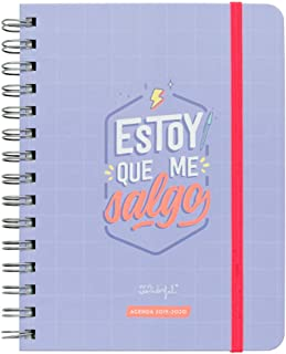 "Mr. Wonderful Agenda Rotu 2019/2020 ""Estoy que Me"