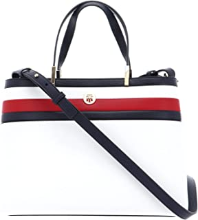 Tommy Hilfiger TH Core Satchel Corporate Corporate White