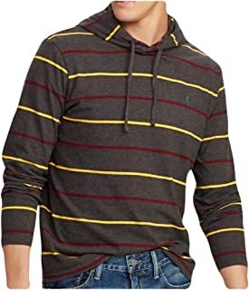Polo Ralph Lauren Jersey Hoodie for Men - Dark Charcoal Heather Multi