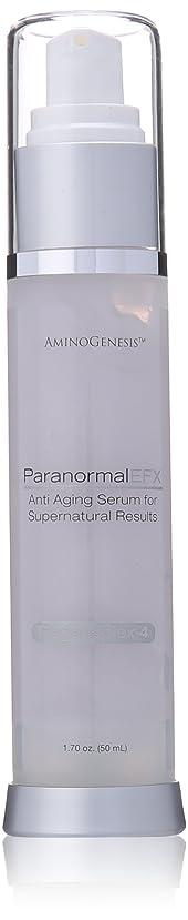 降雨ビリーそっとAminoGenesis Aminogenesis超常現象EFXアンチエイジングスーパーセラム、1.7液量オンス 白