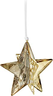 swarovski crystal pixel star ornament