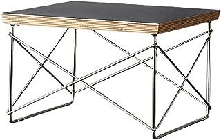 CJDM Table Basse carrée, Petite Table d'appoint de Salon d'appartement, Table d'appoint Minimaliste en Fer forgé de Chambr...