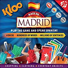 KLOO's Learn to Speak Spanish Language Board Game - Race to Madrid by KLOO Games