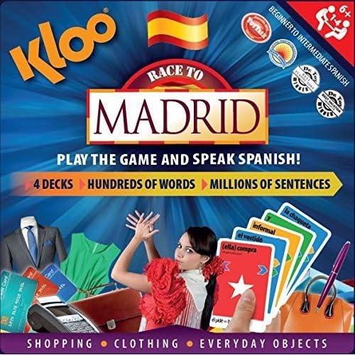 Amazon.com: KLOOs Learn to Speak Spanish Language Board ...