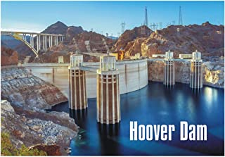 Hoover Dam, Arizona, AZ, Colorado River, Boulder Dam, Bridge, Travel, Souvenir, Refrigerator, Locker Gift Magnet 2 x 3 Fridge Magnet