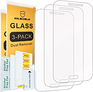 [3-PACK]- Mr.Shield For Samsung Galaxy Core Prime [Tempered Glass] Screen Protector [0.3mm Ultra Thin 9H Hardness 2.5D Rou...