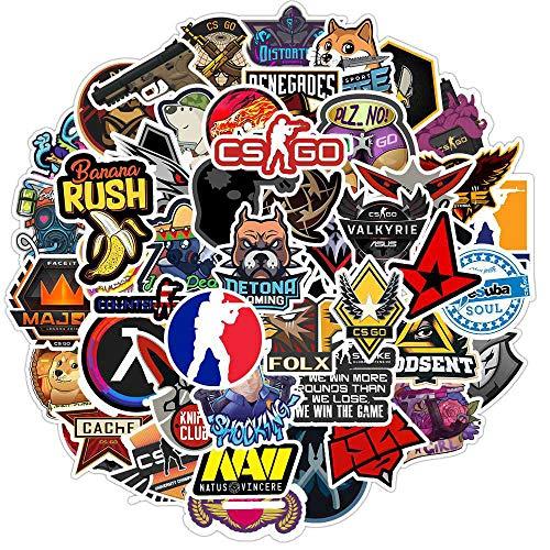 Schieten Spel Sticker Graffiti Stickers Voor Diy Sticker Op Reizen Laptop Skateboard Gitaar Koelkast Telefoon Sticker 50 stks