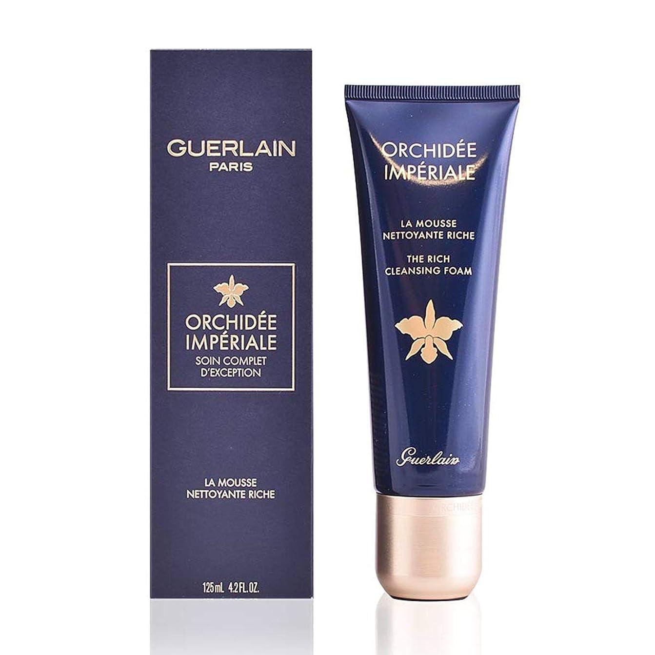 決して指検出するゲラン Orchidee Imperiale Exceptional Complete Care The Rich Cleansing Foam 125ml/4.2oz並行輸入品