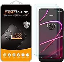 (2 بسته) Supershieldz برای T-Mobile (Revvl 5G) شیشه محافظ صفحه محافظ ، ضد خراش ، حباب رایگان
