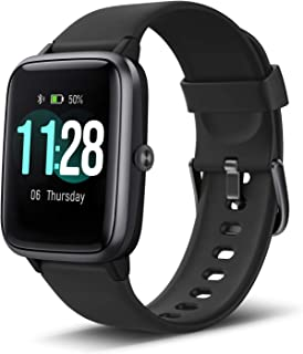 LETSCOM Smart Watch Fitness Tracker Heart Rate Monitor...