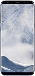 Galaxy S8 64GB Silver SIM-Free Smartphone (Renewed)