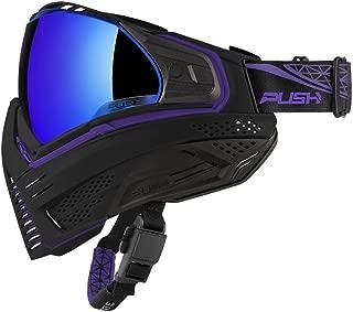 Push Unite Paintball Mask w/ Revo Lens Black / Purple