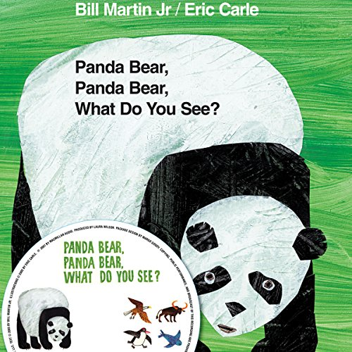 Panda Bear, Panda Bear, What Do You See? audiobook cover art