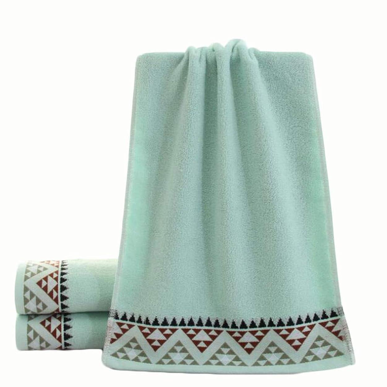 物足りない沈黙備品CXUNKK 2PCS / LOT家庭肥厚綿フェイスタオル大人カップル吸収性タオル (Color : Blue)