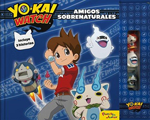 Yo-Kai Watch. Amigos sobrenaturales: Libro de cuentos con 3 figuras