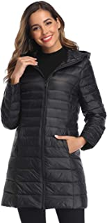 Women's Winter Packable Down Jacket Plus Size Lightweight...