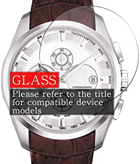 [3 Pack] Synvy Tempered Glass Screen Protector, Compatible with KOMONO Estelle Vichy KOM-W2855 9H Film Smartwatch Smart Watch Protectors